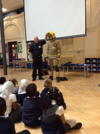 The Fire Service Visit Year 2