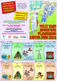 Local Adventure Playground For FREE Half Term Fun